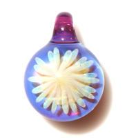 [MCYF-60]mini clear yellow flower pendant