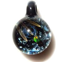 [UBMP-42] meteor black planet pendant