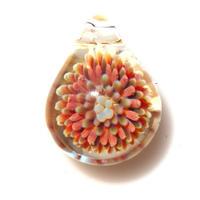 [MCPF-31]mini clear poisonous flower pendant