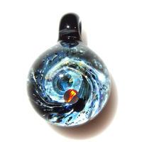 [UBMP-63] meteor black planet pendant