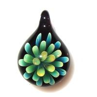 [MFN2-12] mini spread flower pendant