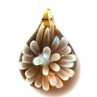 [MCN-85] mini clear flower pendant