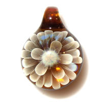 [MCN-84] mini clear flower pendant