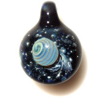 [UP-50]glasxy planet pendant