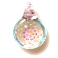 [MCF-04]mini clear flower pendant