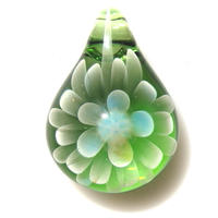[MCN-54] mini clear flower pendant