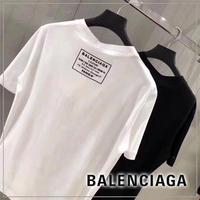 BALENCIAGA バレンシアガ バックロゴ Tシャツ