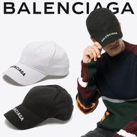 BALENCIAGA 人気の ロゴベースボールキャップ ロゴ刺繍