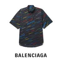 BALENCIAGA / ショートスリーブ ポケット付きシャツ