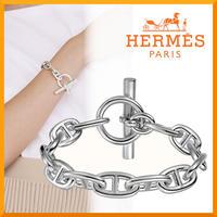 【大人気】HERMES Chaine d'Ancre GM ブレスレット