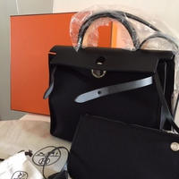 HERMES(エルメス) Herbag Zip 31 bag noir/noir