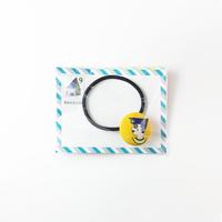 [mannine] くるみボタンヘアゴム
