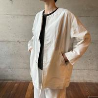 [FURALI] ノーカラージャケット   / ホワイト  | Women's