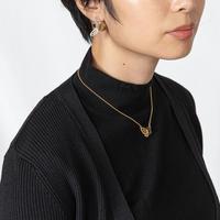 [小山兼吉商店] 胸元にそっと止まって羽を休めるルリシジミモチーフのネックレス