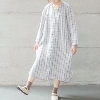 [Osode] ラグラン袖ワンピース / Linen  /  全2色  |Women's