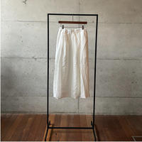 [FURALI] パネルスカート / オフホワイト     Women's