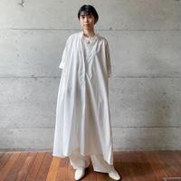 [MidiUmi] Aラインロングワンピース /  全2色 |Women's