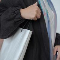 [KAGARI YUSUKE] トートバッグ/ Leather / white/ w17-01