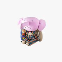 [mannine] ボビーダズラー コラボ人形 / 蝶ネクタイの子