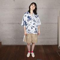 [COOHEM] 夏の快適ニットアロハシャツ / 全2色 |  Unisex