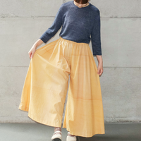 [KENLAND] ベタつき無縁のシャリ感7分袖プルオーバー  /   全2色  |Women's