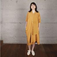 [BASE MARK]今までにない不思議なポロ ドレス / 全2色 | Women's