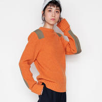 [RUMBLE RED]落ち着いた着心地。コマンドセーター /Brick Red | Women's