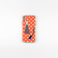 [mannine]  iphoneケース   背面カバー  /  X ,XS  /  全3色