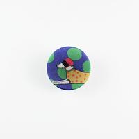 [mannine] くるみボタン