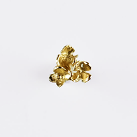 [Fillyjonk] hydrangea pierce  gold small