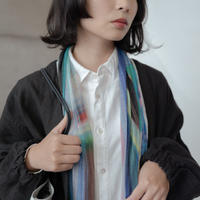 [marumasu]  Tencel Silk Cashmere Jersey stole  /  PARALLEL  /    lavender