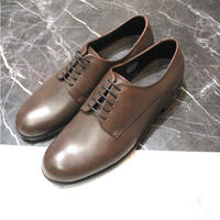 DERBY PLAIN TOE SHOES【BRN】