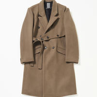 SAFETY Belted Cronby Coat (Brown)