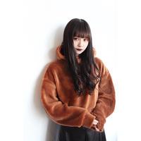 L. SHORT BOA HOODY【ORG】