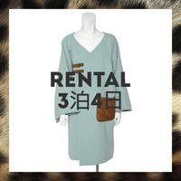 【レンタル】リバーシブルショール付きベルトコート Mサイズ