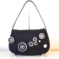 まるまるショルダー Circle motif shoulder bag