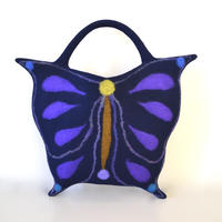 Butterfly bag♪ dark blue