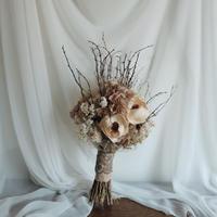 wedding bouquet & boutonniere no,008
