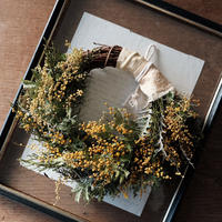 flower wreath no.008