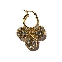 フラワーブッドイヤリング(片耳ピアス)/Flower bud earring/ul0216