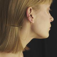 ヘアピン付きイヤカフ/Ear cuff with hair pin/ul0208