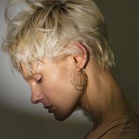 カーラベーシックイヤリング(両耳ピアス)/calla basic earrings /0108