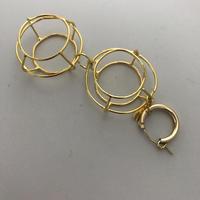allium double earring(片耳)/0093