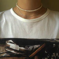 pearl chain necklace/0065