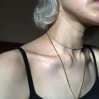 ジルネックレス/zir necklace/0062