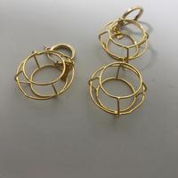 allium earring(片耳)