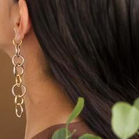 チェーンイヤリングス(両耳イヤリング)/chain earring