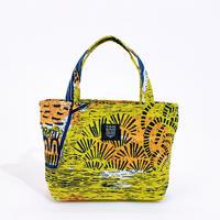 Mini tote Bag 「Planter」mustard