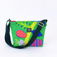 TANSAN Shoulder bag「Uzumaki Flower」green