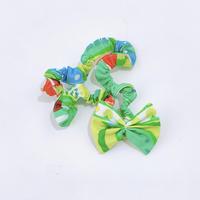 TANSAN Hair Band「Welcome Fruits」green